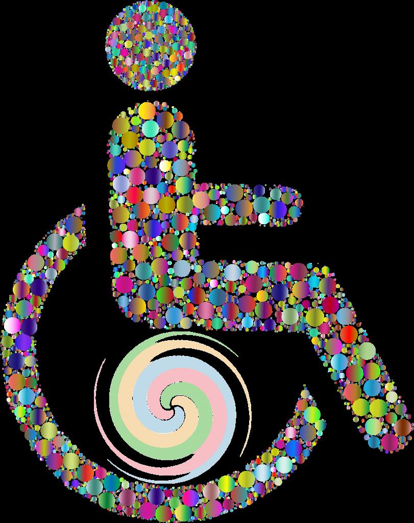 Innere Bewegung im Rollstuhl