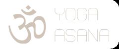Yoga Asana Logo mit Verlinkung